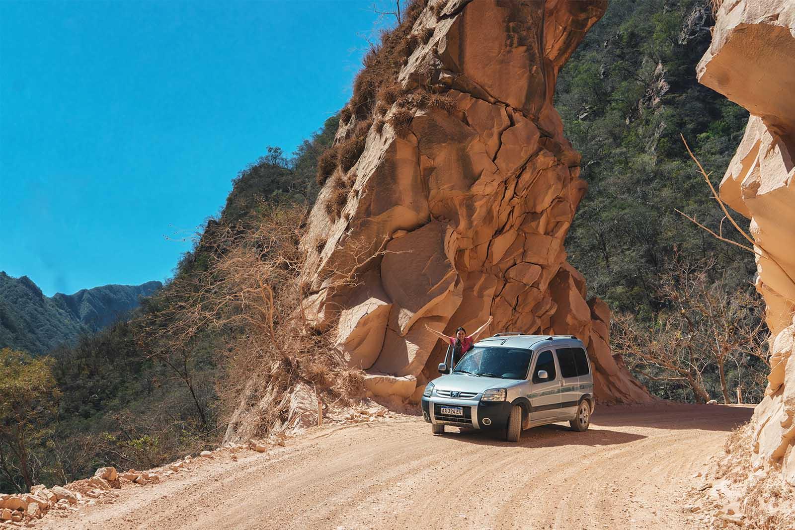 Caminos de Tierra en Bolivia