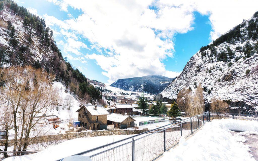 Paisaje Andorra