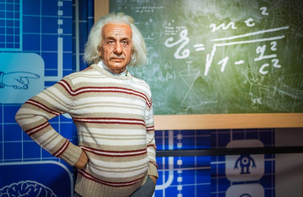 Einstein Madame Tussauds Bangkok