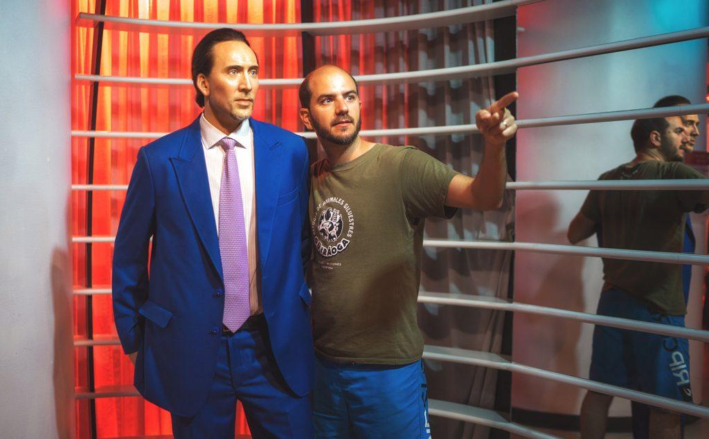 Nicholas Cage Madame Tussauds