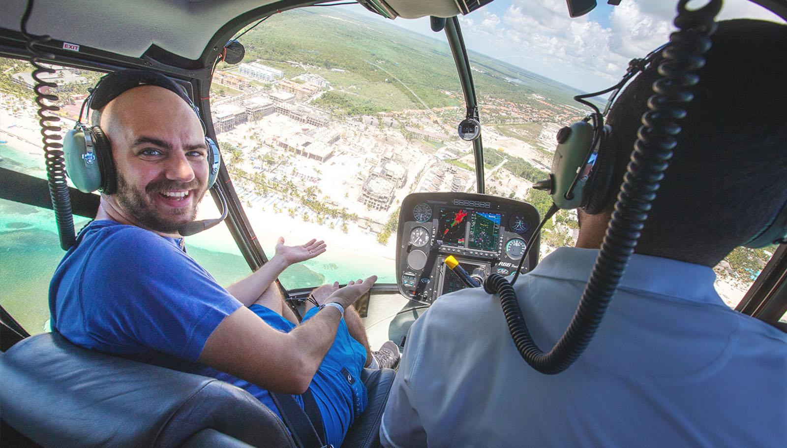 Helicoptero Punta Cana