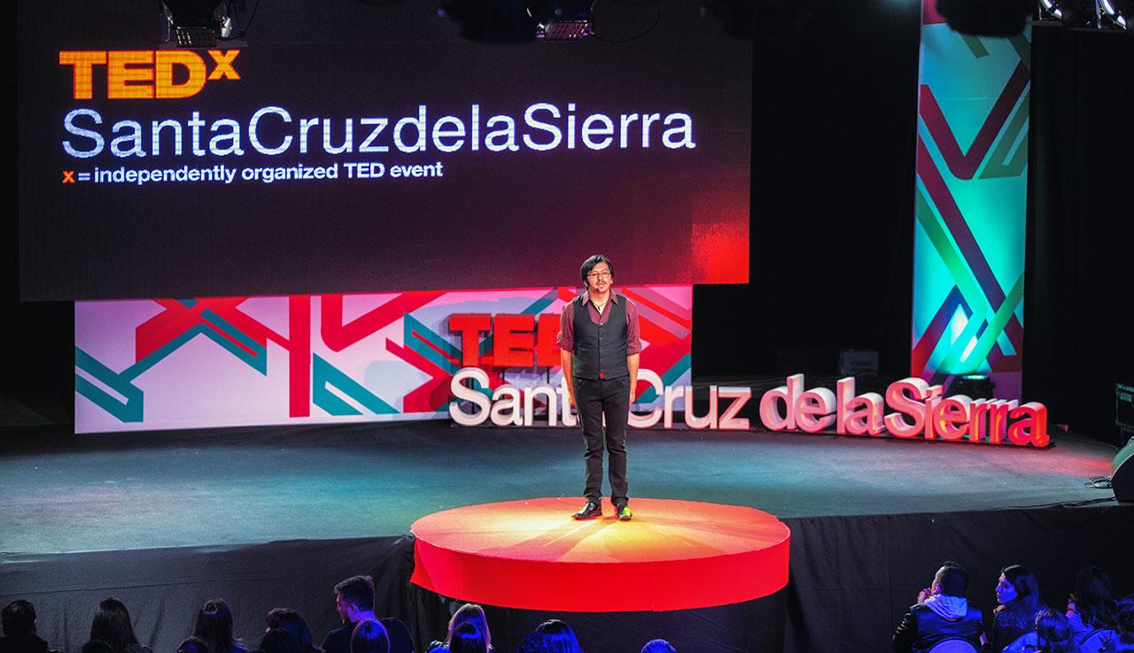 TEDxSantaCruzdelaSierra Guide Davidan Choquetanga