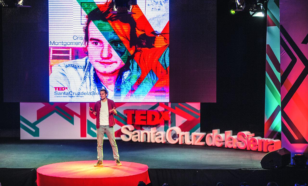 TEDxSantaCruzdelaSierra Chris Montgomery