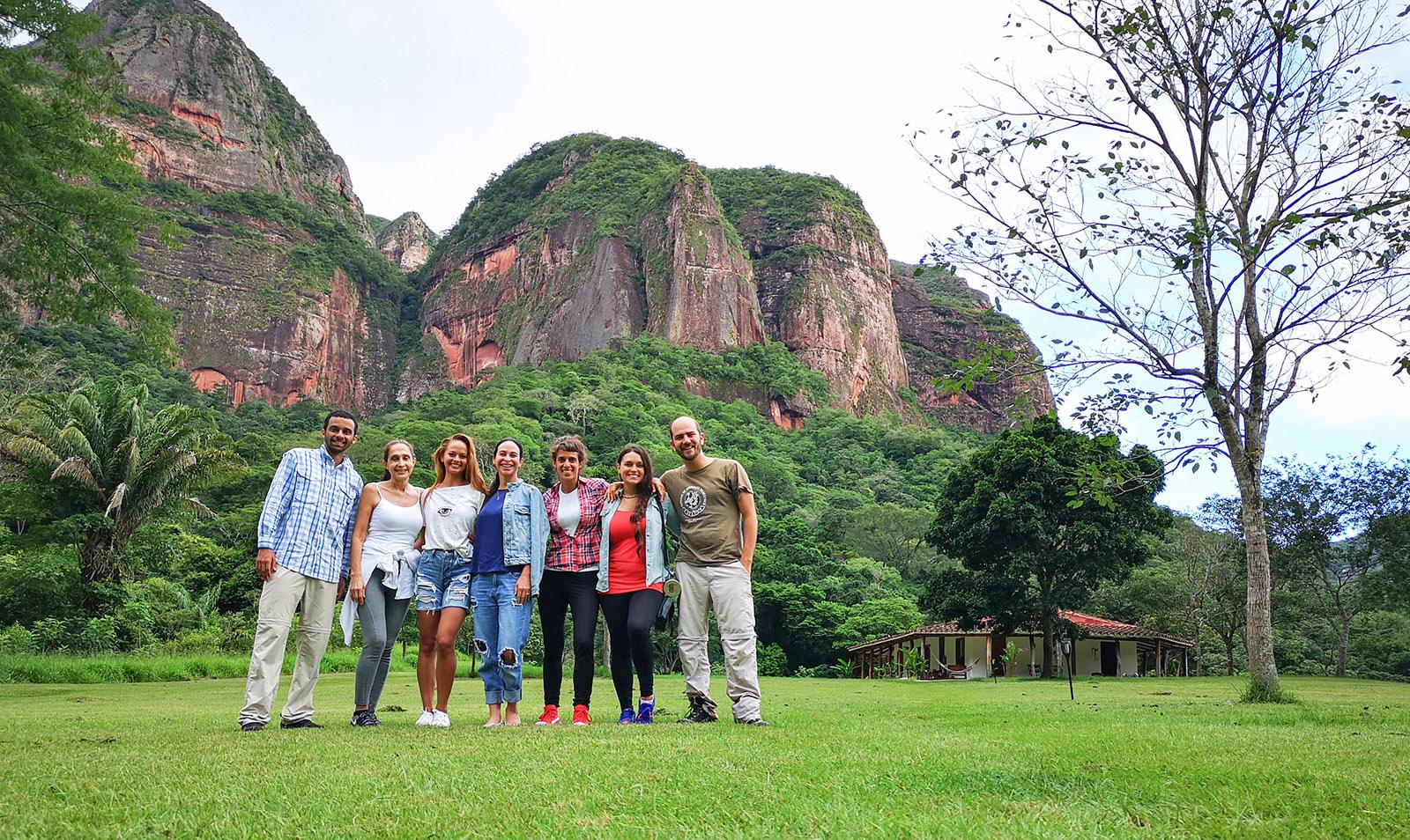 Un lugar perfecto para visitar con amigos. Vicente y su familia los recibirán con afecto.