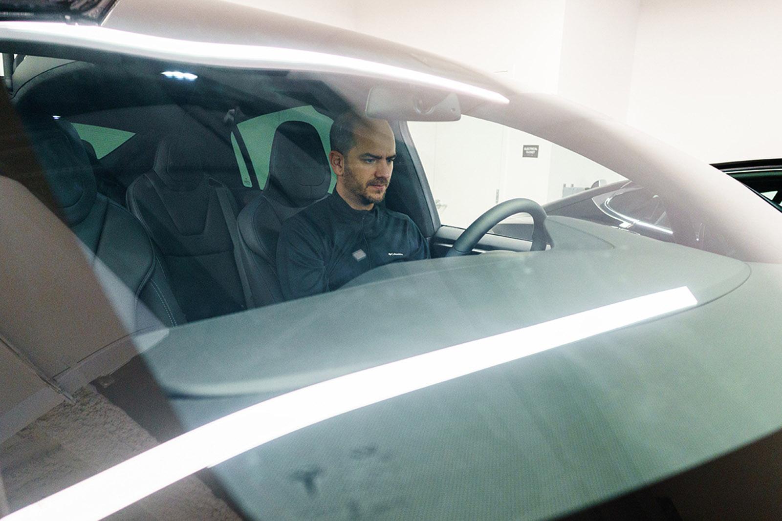 Test Drive model X